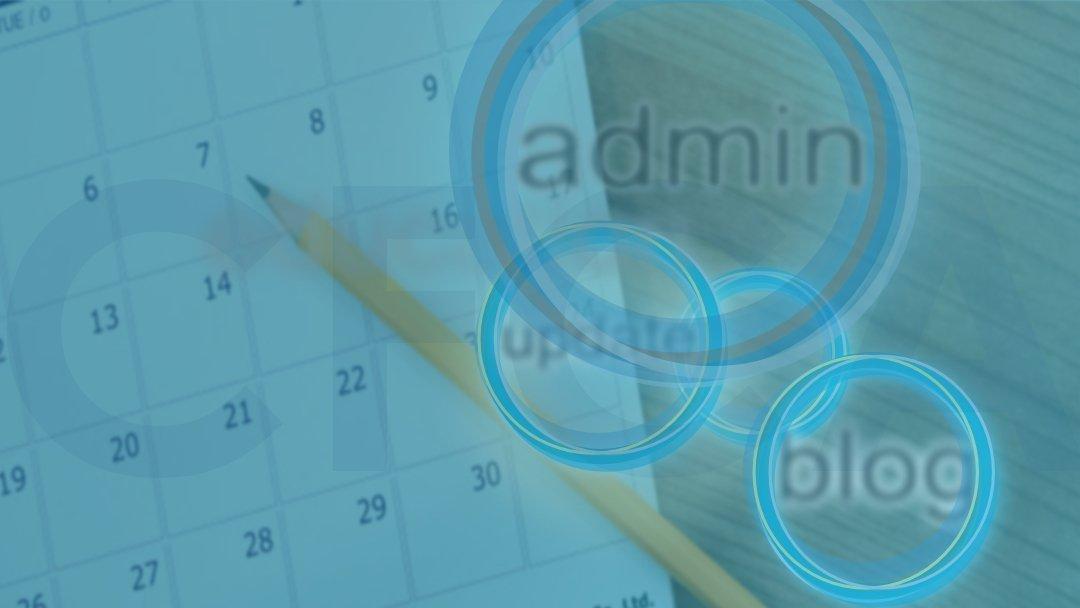 Admin Updates