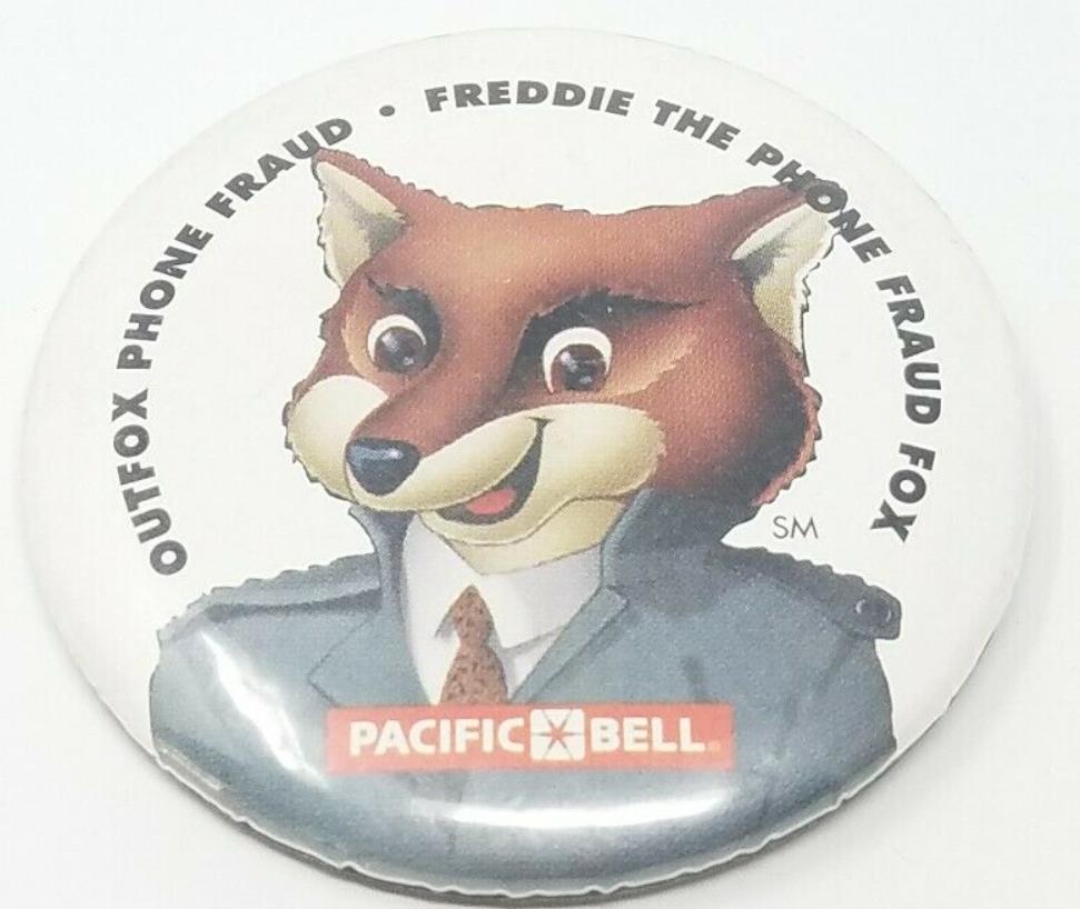 Freddie Pin Badge